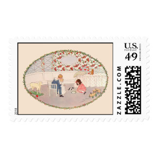 I love little Pussy (children's song) Postage