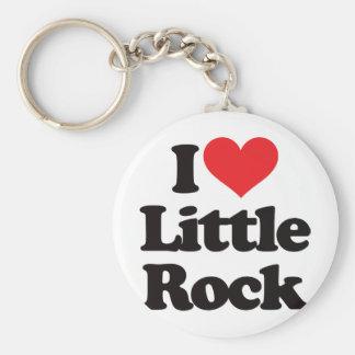 I Love Little Rock Keychain