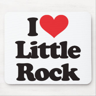 I Love Little Rock Mouse Pad