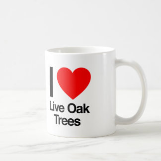 i love live oak trees coffee mug