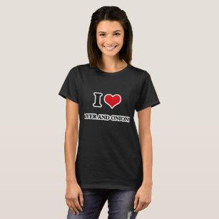 I Love Heart Onions T-Shirt