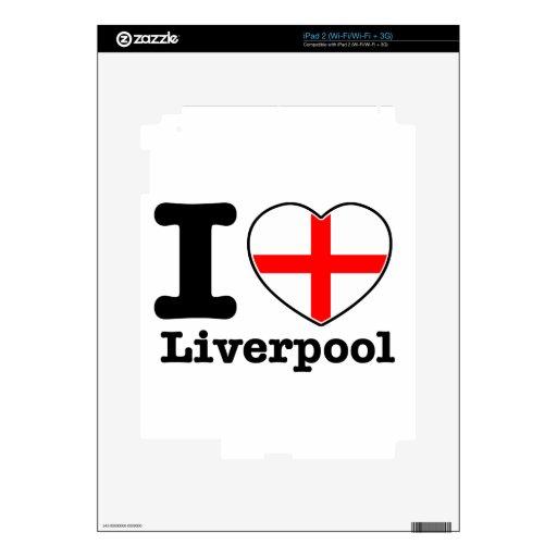 I love Liverpool iPad 2 Skin