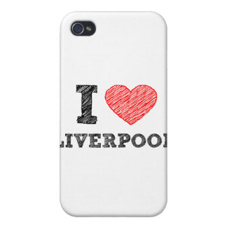I love Liverpool iPhone 4 Case