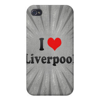 I Love Liverpool, United Kingdom Cover For iPhone 4