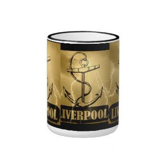 I love Liverpool - Vintage Mug