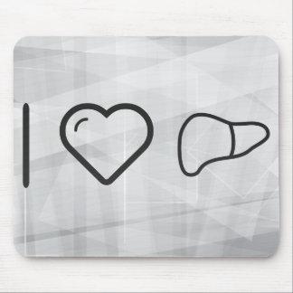 I Love Livers Mouse Pad
