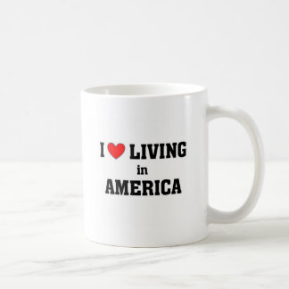 I love living in America Coffee Mug
