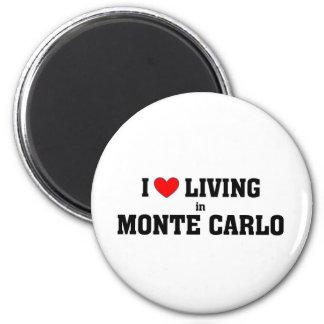 I love living in Monte carlo Magnet