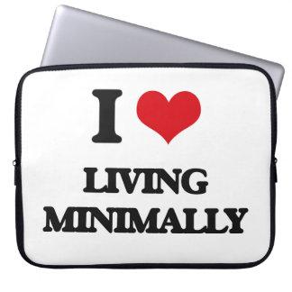 I Love Living Minimally Computer Sleeves