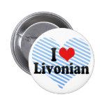I Love Livonian Pin