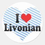 I Love Livonian Sticker