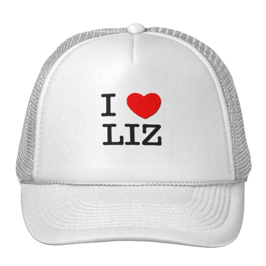 I Love Liz Trucker Hat