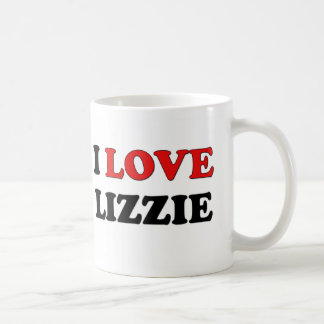 I Love Lizzie Coffee Mugs