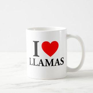 I Love Llamas Coffee Mug