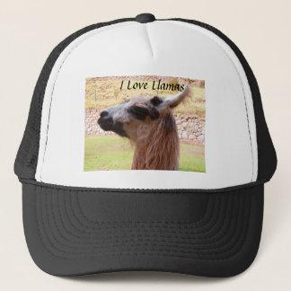 I Love Llamas Hat
