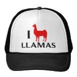 I Love Llamas Mesh Hat