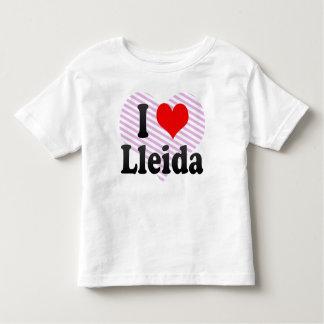 I Love Lleida, Spain Toddler T-shirt