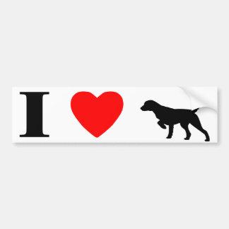 I Love Llewellin Setters Bumper Sticker