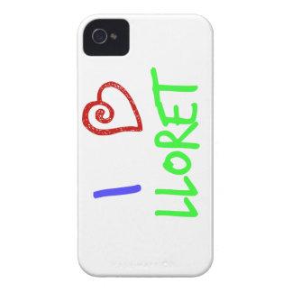I Love Lloret iPhone 4 Case