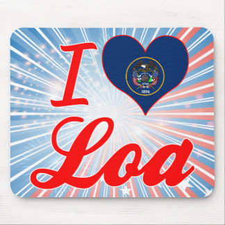 I Love Loa, Utah Mouse Pad