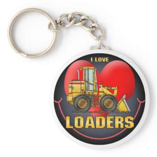 I Love Loaders Key Chain