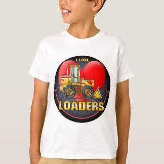 I Love Loaders Kids T-Shirt
