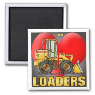 I Love Loaders Magnet