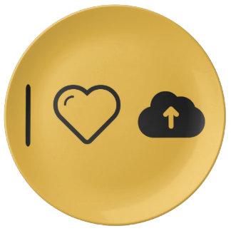 I Love Loads Porcelain Plate