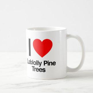 i love loblolly pine trees coffee mug