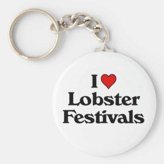 I love Lobster Festivals Keychain