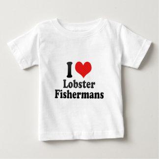 I Love Lobster Fishermans Baby T-Shirt