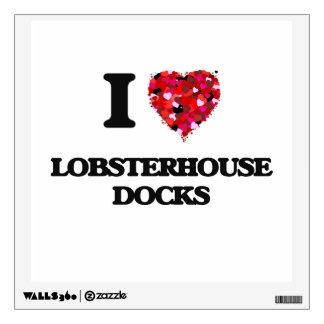 I love Lobsterhouse Docks New Jersey Wall Decal