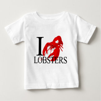 I Love Lobsters Baby's T-shirt