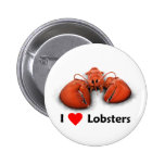 I love Lobsters Button