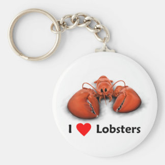I love Lobsters Keychains