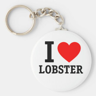 I Love Lobsters Key Chains