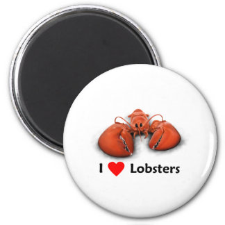 I love Lobsters Magnet