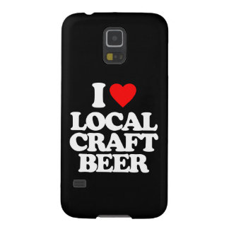 I LOVE LOCAL CRAFT BEER GALAXY S5 COVER