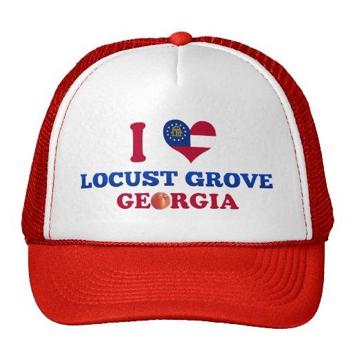 I Love Locust Grove, Georgia Trucker Hat