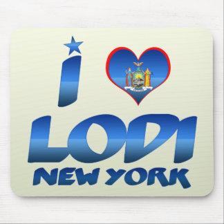 I love Lodi, New York Mouse Pad