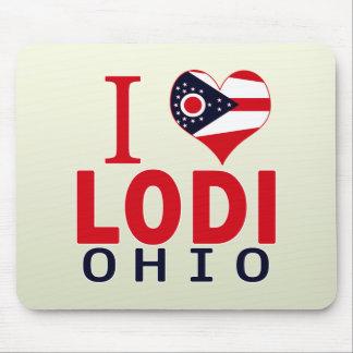 I love Lodi, Ohio Mouse Pad
