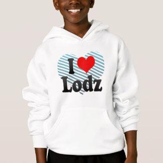I Love Lodz, Poland Hoodie