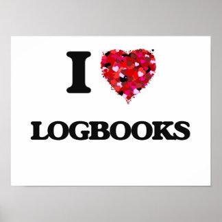 I Love Logbooks Poster