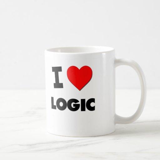 I Love Logic Classic White Coffee Mug