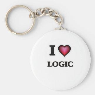I Love Logic Keychain