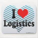 I Love Logistics Mousepad