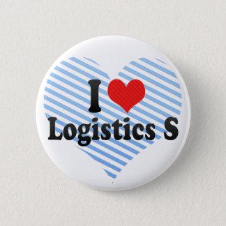 I Love Logistics S Pinback Button