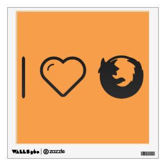 I Love Logotypes Wall Stickers