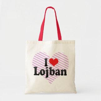 I Love Lojban Tote Bag