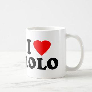 I Love Lolo Classic White Coffee Mug